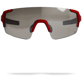 BBB FullView PH Occhiali sportivi, glossy metallic red/photocromatic